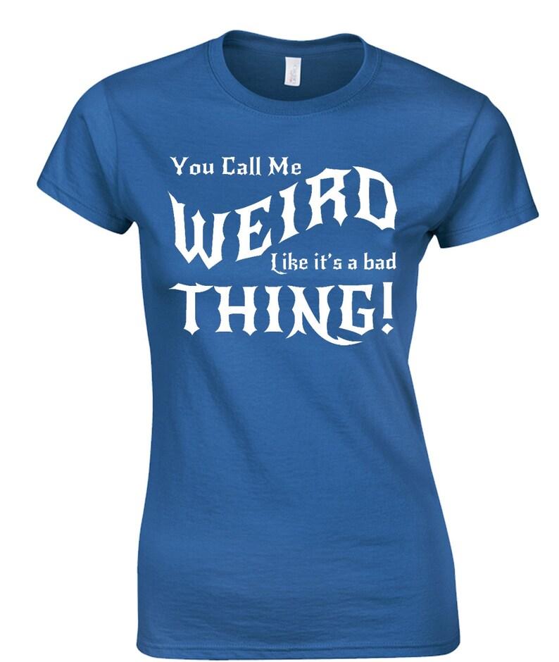 fb4b15422f Weird Ladies T-Shirt Gothic Goth Punk Witch Witchcraft EMO | Etsy