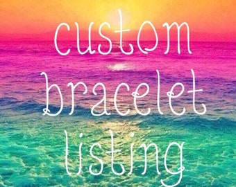 Custom Listing for Harmony Boutique