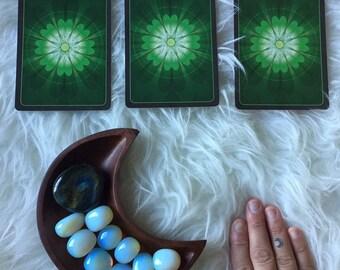 Tarot Reading   3 Card Spread   2 Bonus Oracle Cards   Spiritual Junkies   Yoga Journey + Meditation   Sacred Space   Personal Growth