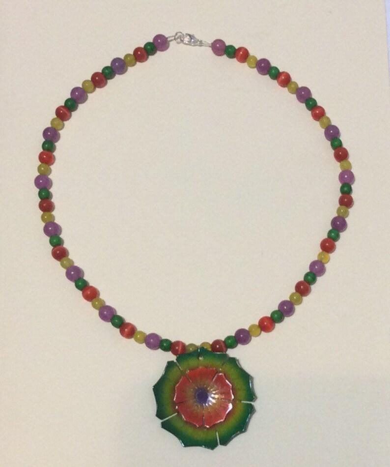 19.75 Flower Necklace