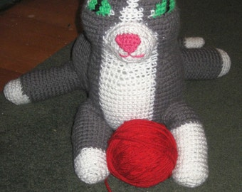 Selina the Cat pattern