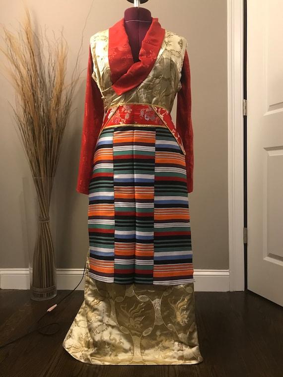 Traditional Tibetan Apron Pangden