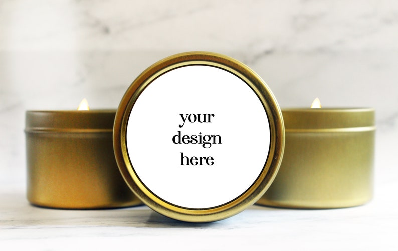 Custom Wedding Favors Candles  Your Own Design Wedding Favors image 0