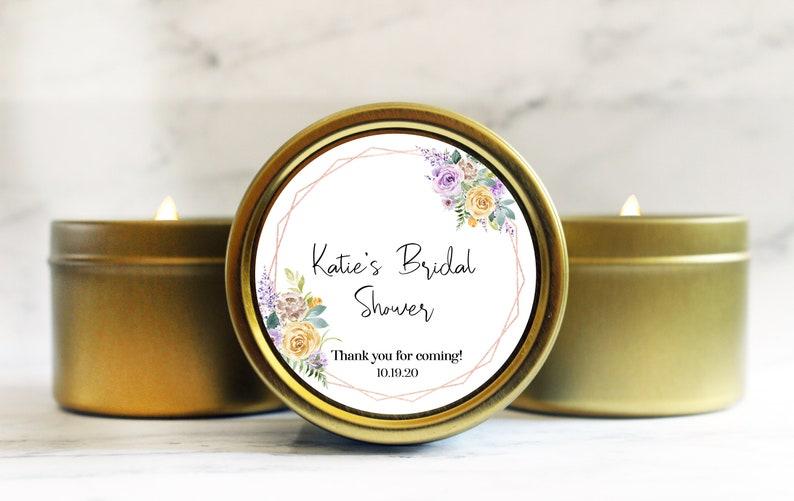 Bridal Shower Favors  Candle Favor  Wedding Shower Favors  image 0
