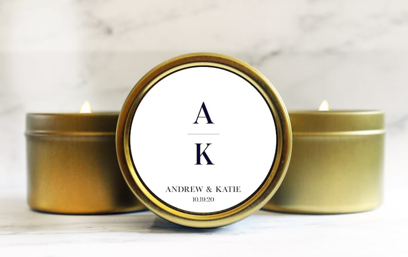 Candle Wedding Favor  Wedding Favors for Guests  Bridal image 0