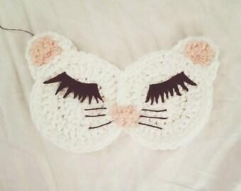 Cat sleep eye mask