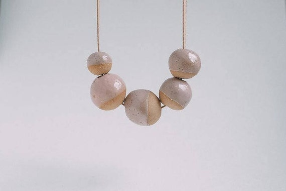 Soft Pink Dip in Earthenware