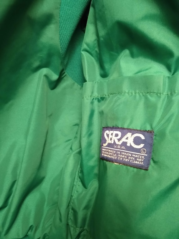 Blue and Green 80s Ski Jacket S/M - image 8