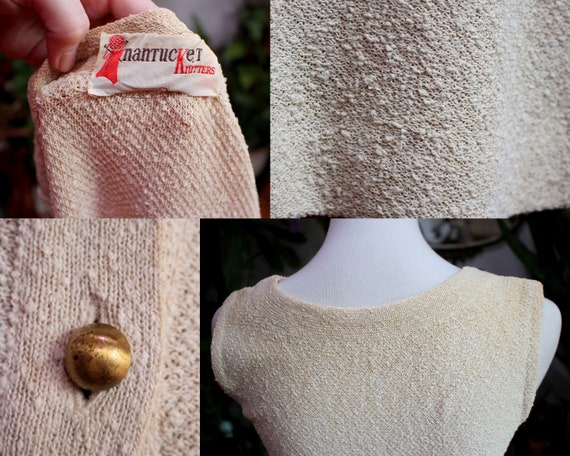 Jolene Dress Set // Vintage 1930's - 1940s Oatmea… - image 10
