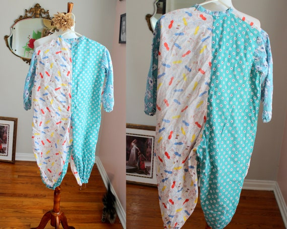 Sew Cute Romper // Vintage 1940's -1950's Hand mad