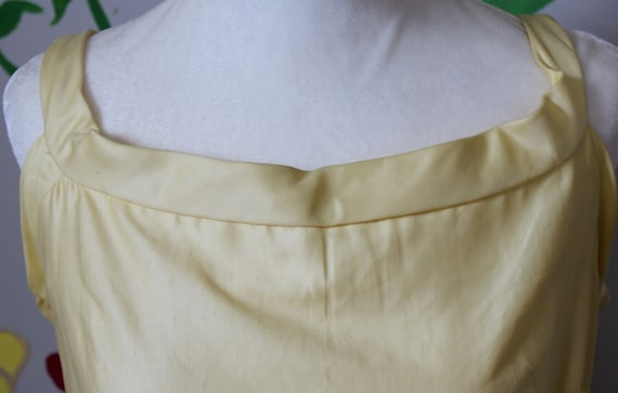 Daisy Dress // Vintage 1950's Buttery Yellow Cott… - image 7