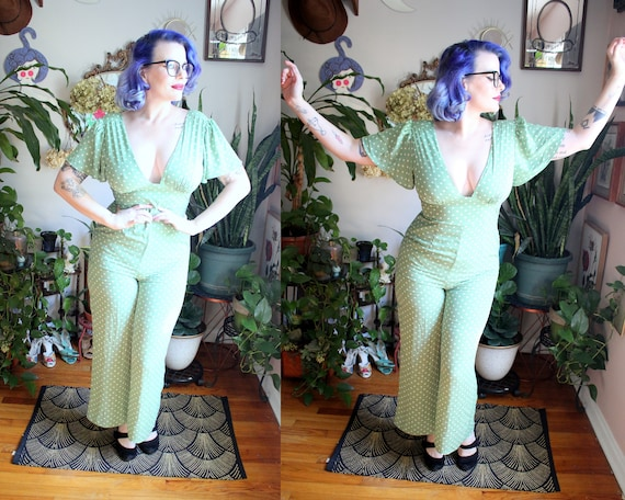 Jade Jumpsuit // Retro 1990's does 1940's Style Sp