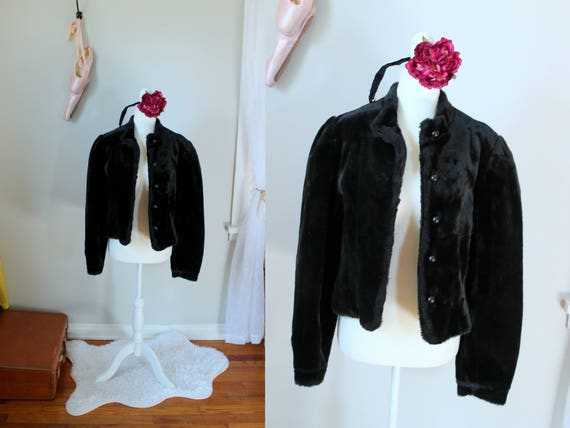 Vintage Edith Coat // 1970's Olympia Fashions Faux