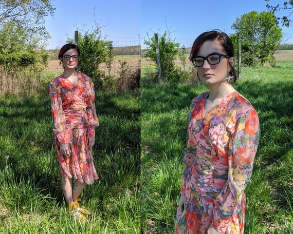 Jubilee Dress // Vintage 1970's - 1980's Gorgeous