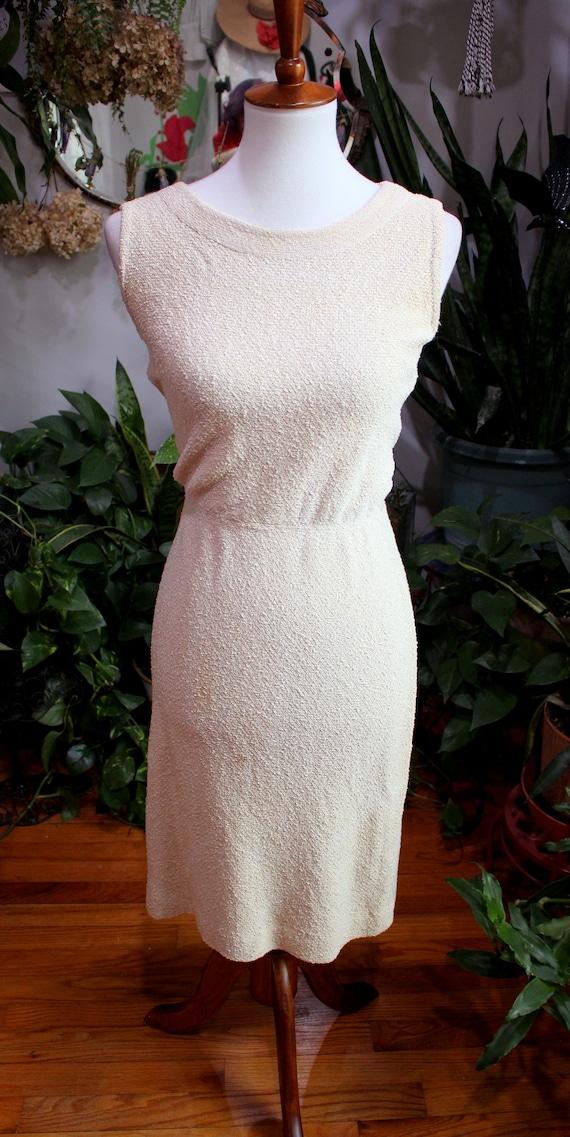 Jolene Dress Set // Vintage 1930's - 1940s Oatmea… - image 5