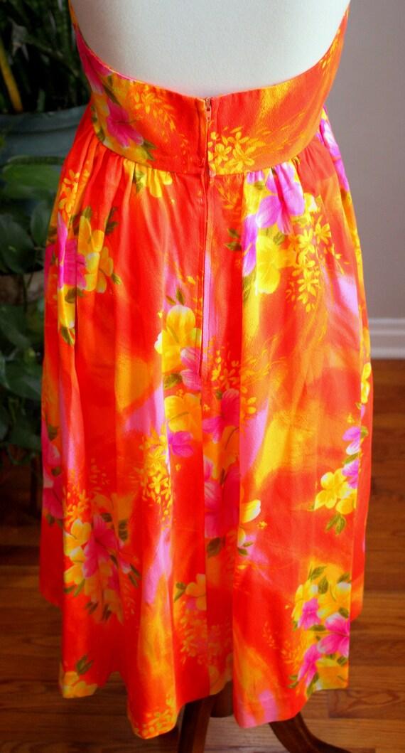 Delilah Dress // Vintage 1950's - 1960's Bold, Br… - image 7
