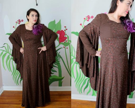 Rowan Dress // Vintage Renaissance Style Chocolate