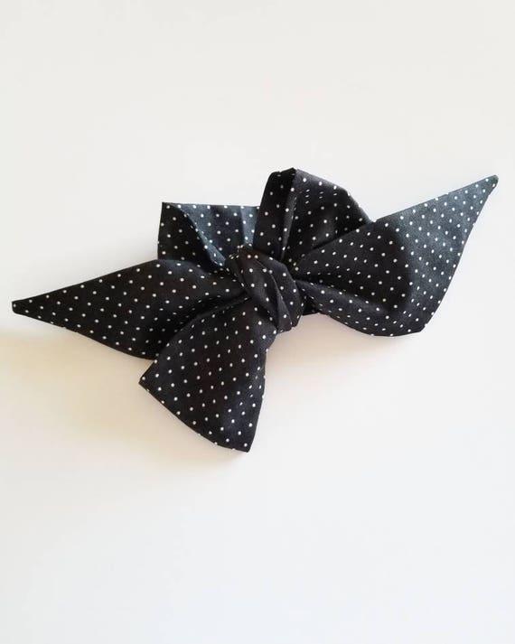 Head wrap bow {Kylie}