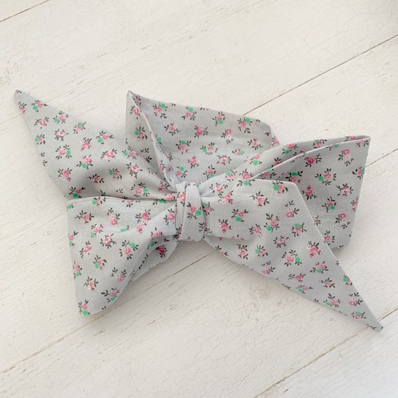 Headwrap bow- baby headband- big bows- mommy and me bows {Pink Rosette}