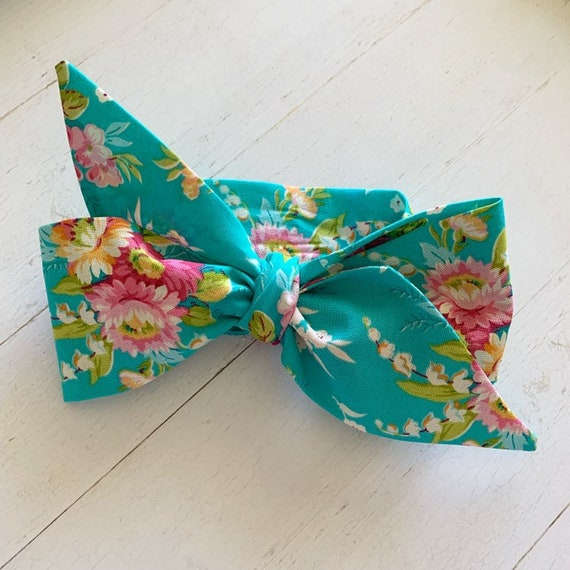 Headwrap bow {Emma} newborn headbands - toddler headbands - baby girl clothing