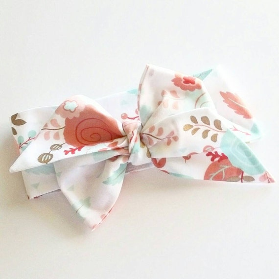 Head wrap {Maddie} baby bows, photography prop, hair bows, turbans