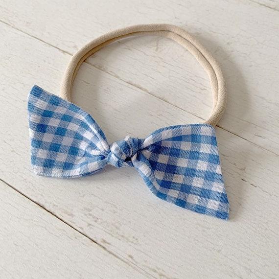 Baby girl nylon headbands {Dorothy} baby bows