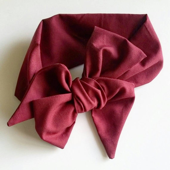 Headwrap {Berry} newborn headbands - baby girl bows - baby accessories - one size fits all bows