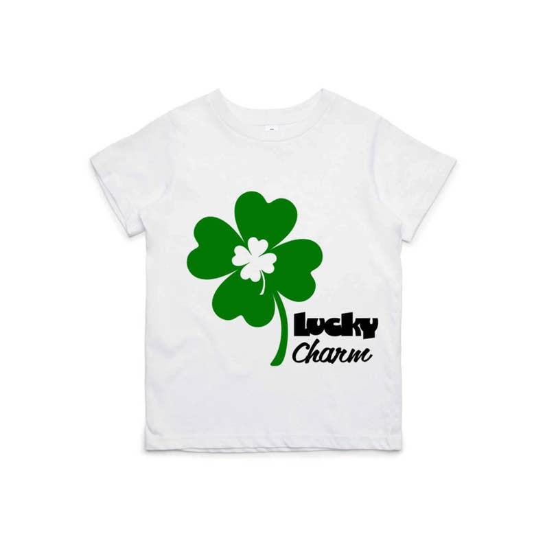 236403aa2561 Iron On Lucky Charm Irish Shamrock Fabric Applique Design