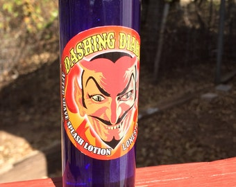 All Natural Alcohol Free AFTER SHAVE LOTION Dashing Diablo Multiple Scents Available aftershave 4oz by Lone Star Slick Dixie Cowboy