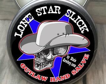 OUTLAW HAND SALVE Essential Oils Natural & Organic Cream Repair Balm Arthritis Healing Dry Skin Heels Burns Men Women Lone Star Slick