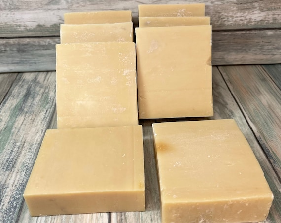 COCONUT & OLIVE OIL Soap - Born Wild Soap Co. - Bar Herbal Essential Oils All Natural and Organic Ingredients 4.5 oz Dixie Cowboy