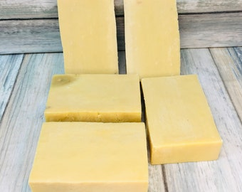 CHAMOMILE & OLIVE OIL Soap - Born Wild Soap Co. - Bar Herbal Essential Oils All Natural and Organic Ingredients 3.5 oz Dixie Cowboy