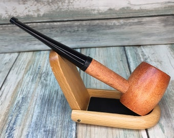 USA MADE Maple Wood PIPE Tobacco Smoking Pipe Men's & Women's Carved Wood Handcrafted Dixie Cowboy Bb4