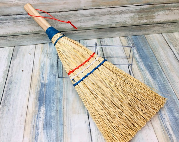 USA Made Free Shipping 100% SORGHUM STRAW Large Whisk Indoor Outdoor Yard Garage Broom Brush Cleaning Kitchen Eco Friendly Dixie Cowboy Brm1