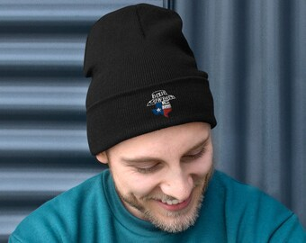 DIXIE COWBOY Bandit Logo Winter Ski Cap Hat Embroidered Beanie