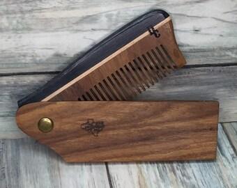 FOLDING COMBS Horn&Wood