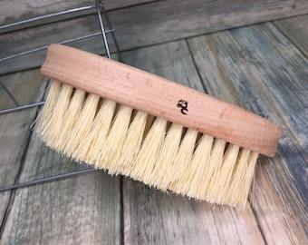 USA Made VEGAN Friendly Sisal Fiber Multipurpose VEGETABLE Hand Nail Gardener's Scrub Cleaning Household Brush Bristle Dixie Cowboy J42