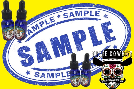 SAMPLE 5 Pack SET All Natural Perfume & Cologne Dixie Cowboy 5ml Bottle Organic Old West Gypsy Tonic PAMPERIN' Oil Fragrance Pomade Lotions