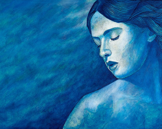 Distancia - Framed Giclee on Canvas