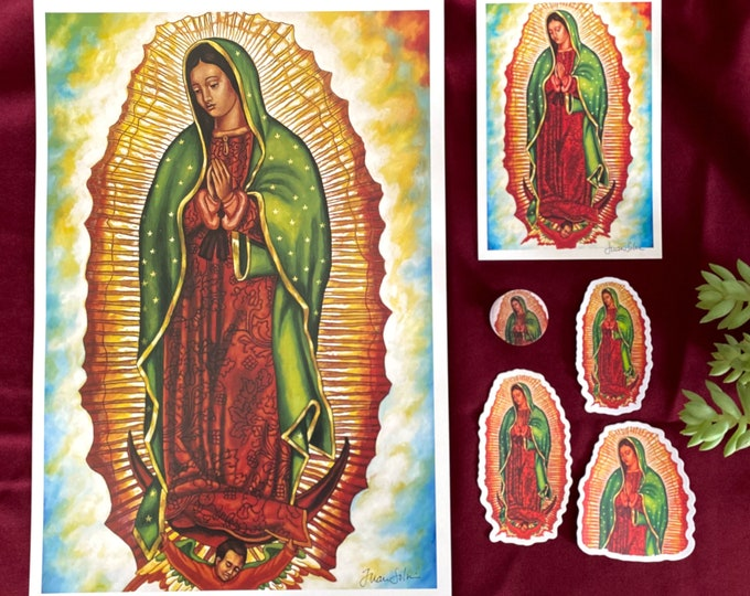 Featured listing image: Virgen de Guadalupe Limited Edition Set (6 products)