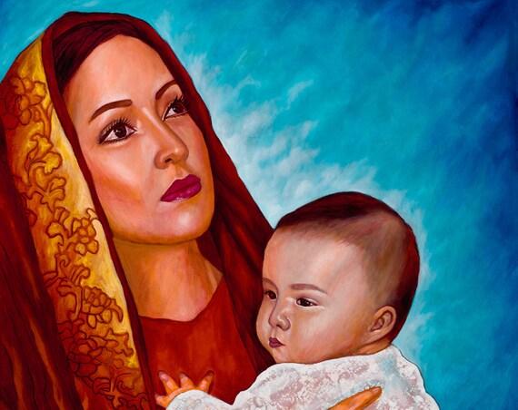 Amor Eterno - Framed Giclee on Canvas
