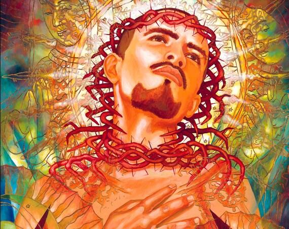 Cruz- Framed Giclee on Canvas