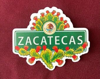 """Zacatecas Sticker (4"""" X  3.5"""")"""