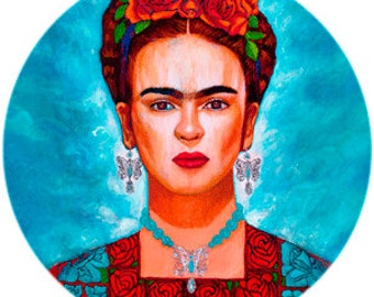 Frida entre Mariposas Phone Grip