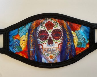 Calavera Face Mask (Medium Size)