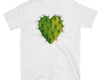 Corazon Nopal Short-Sleeve Unisex T-Shirt