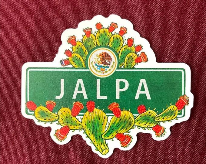 "Featured listing image: Jalpa Sticker (4"" X  3.5"")"