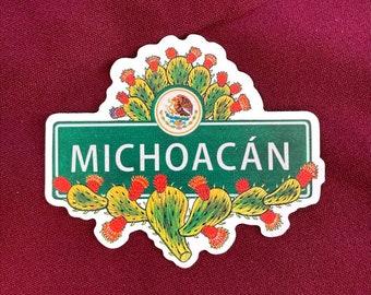"Michoacan Sticker (4"" X  3.5"")"