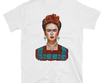 Frida y sus Mariposas Short-Sleeve Unisex T-Shirt