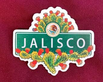 "Jalisco Sticker (4"" X  3.5"")"
